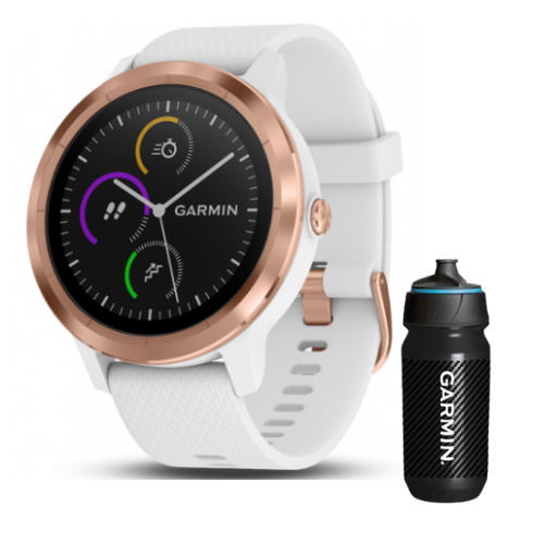[INN03402] Combo SmartWatch Garmin Vivoactive 3 + Botella Garmin Carbon 500 ML