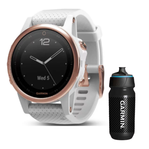 [INN03408] Combo SmartWatch Garmin Fenix 5S Zafiro + Botella Garmin Carbon 500 ML