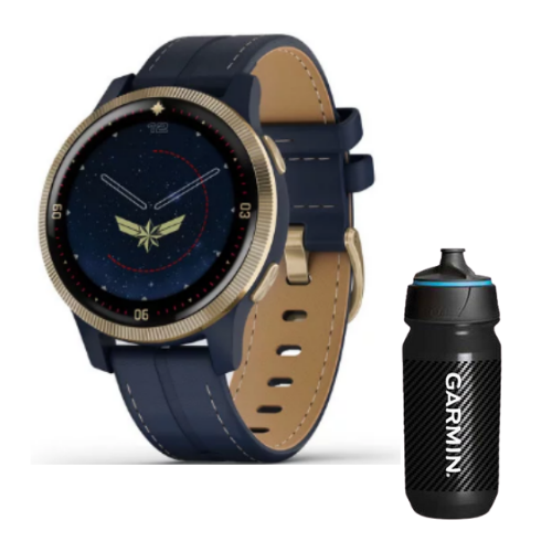 [INN03420] Combo SmartWatch Garmin Serie Legacy Hero Marvel  + Botella Garmin Carbon 500 ML