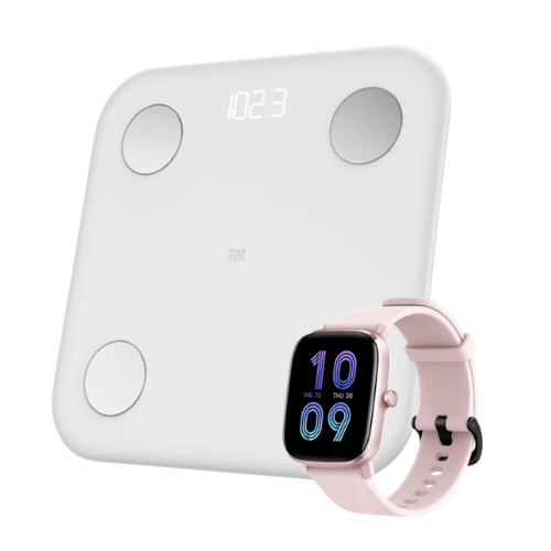 [INN04451] Combo Báscula Xiaomi Mi Body Composition Scale 2 + SmartWatch Amazfit GTS 2 Mini