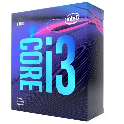 [INT3408] Intel Core i3 9100F - 3.6 GHz - 4 núcleos