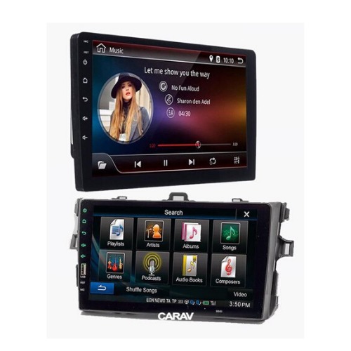 "[INN01700] Radio Android 9"" + Kit de Dash Corolla 08-10/9"""